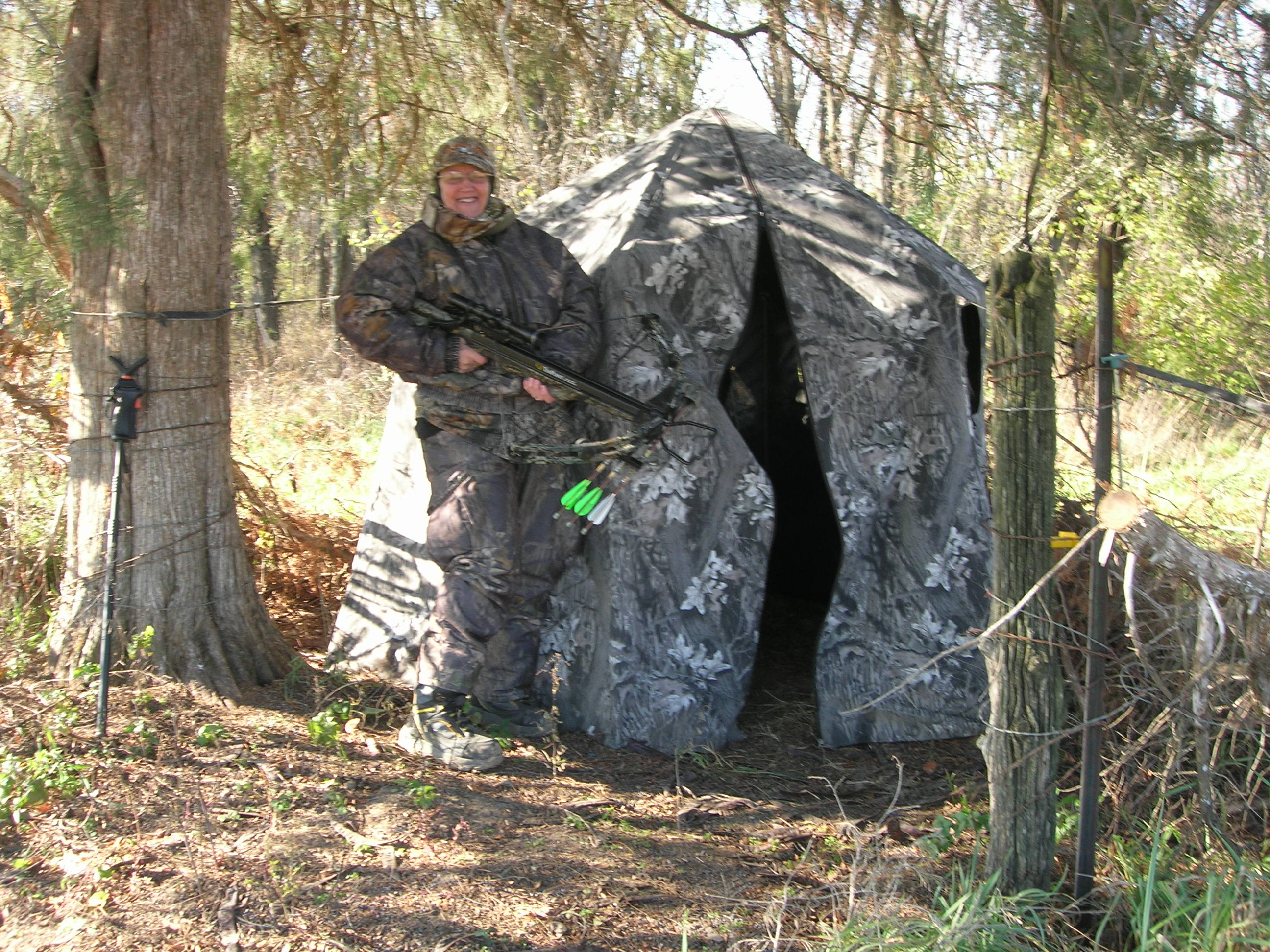 blind blinds hunting for small turkey best ground properties tips channel sportsman bow